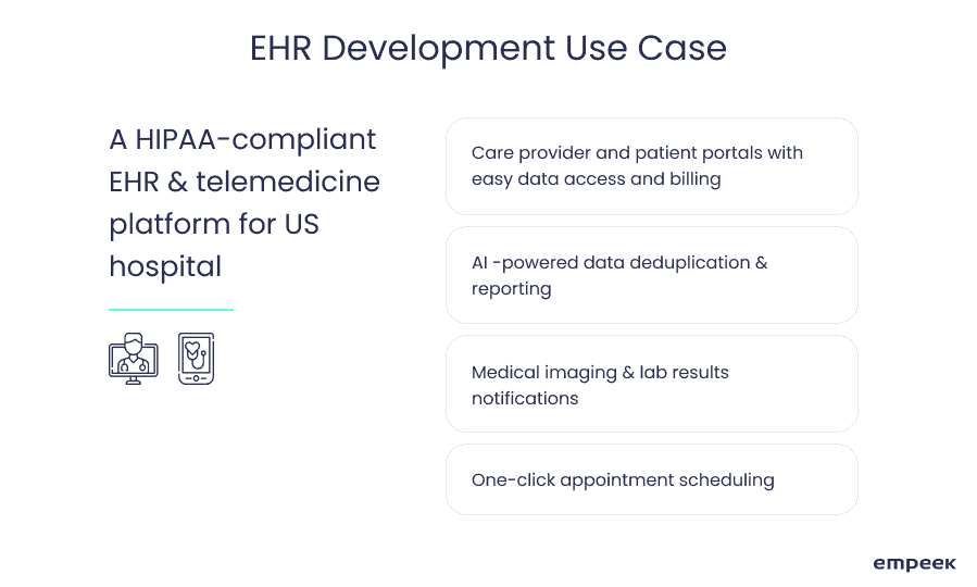 ehr development use case